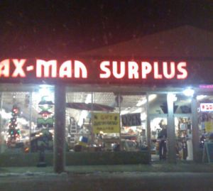 The AxMan Surplus Store: Fridley, MN