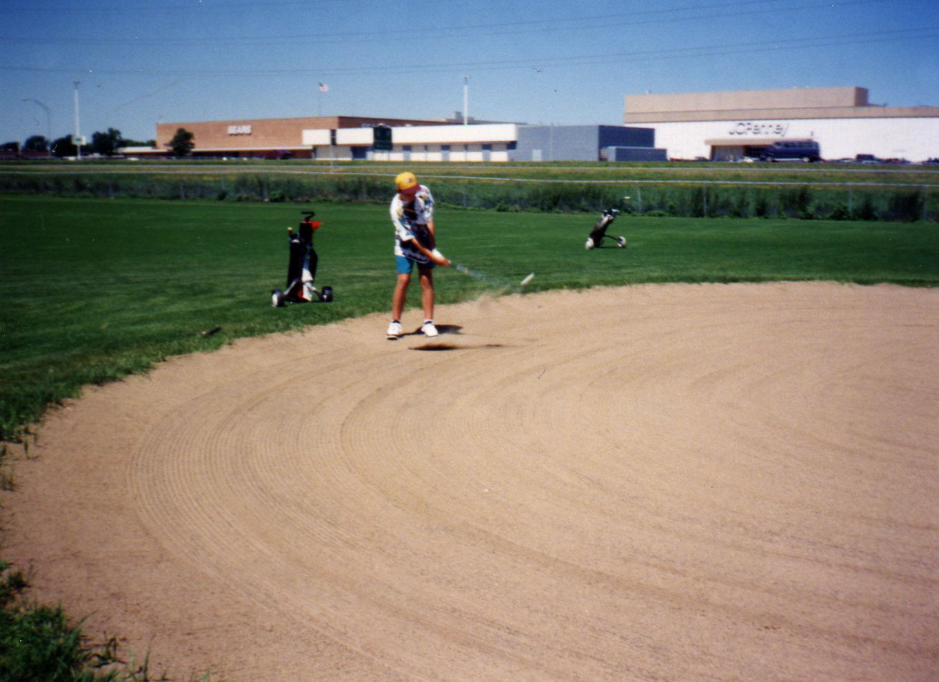 July, 1994 at Centerbrook Golf Course (the golfer is my brother). Brookdale Mall is in the background