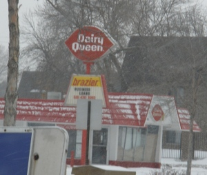 Woo hoo! Dairy Queen's still around