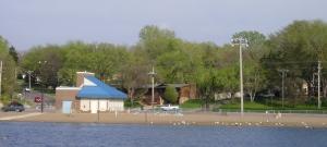 "Moore Lake ""beach"""