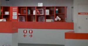 Vintage Target service desk!
