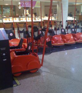 Maplewood Mall has a sweet fleet of rentable mall cruisers
